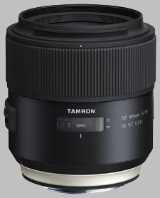 image of the Tamron 85mm f/1.8 Di VC USD SP lens
