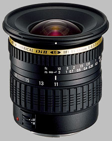 image of the Tamron 11-18mm f/4.5-5.6 Di II LD Aspherical IF SP AF lens