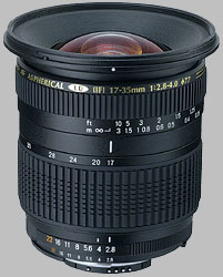 image of the Tamron 17-35mm f/2.8-4 Di SP AF lens