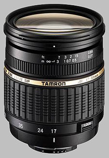 image of the Tamron 17-50mm f/2.8 XR Di II LD Aspherical IF SP AF lens