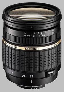image of the Tamron 17-50mm f/2.8 XR Di II LD Aspherical IF SP AF lens