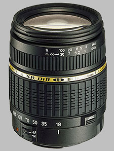 image of the Tamron 18-200mm f/3.5-6.3 XR Di II LD Aspherical IF AF lens