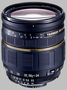image of the Tamron 24-135mm f/3.5-5.6 AD Aspherical IF Macro SP AF lens