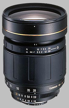 image of the Tamron 28-105mm f/2.8 LD Aspherical IF SP AF lens