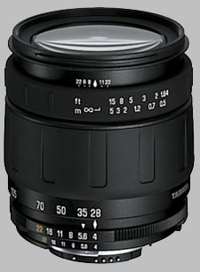 image of the Tamron 28-105mm f/4-5.6 IF AF lens