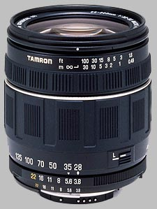 image of the Tamron 28-200mm f/3.8-5.6 XR Aspherical IF Macro AF lens