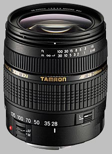 image of the Tamron 28-200mm f/3.8-5.6 XR Di Aspherical IF Macro AF lens