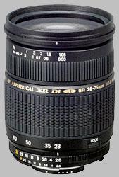 image of the Tamron 28-75mm f/2.8 XR Di LD Aspherical IF SP AF lens