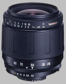 image of the Tamron 28-80mm f/3.5-5.6 Aspherical AF lens