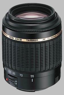 image of the Tamron 55-200mm f/4-5.6 Di II LD Macro AF lens