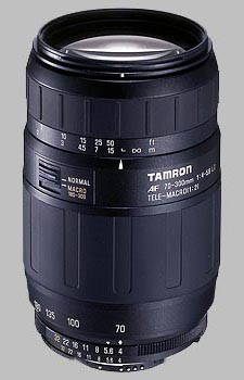 image of the Tamron 70-300mm f/4-5.6 LD Macro 1:2 AF lens