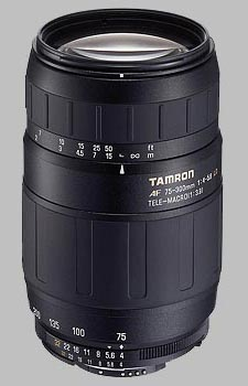 image of the Tamron 75-300mm f/4-5.6 LD Macro AF lens