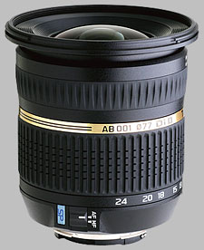 image of the Tamron 10-24mm f/3.5-4.5 Di II LD SP AF lens