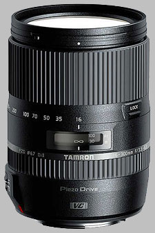 image of the Tamron 16-300mm f/3.5-6.3 Di II VC PZD Macro lens