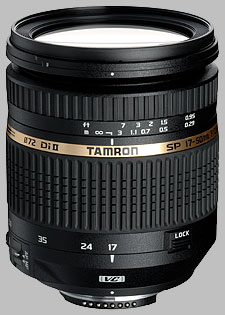image of the Tamron 17-50mm f/2.8 XR Di II VC LD Aspherical IF SP AF lens