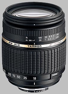 image of the Tamron 18-250mm f/3.5-6.3 Di II LD Aspherical IF Macro AF lens