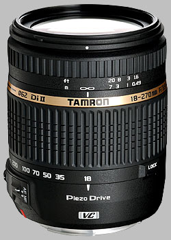 image of the Tamron 18-270mm f/3.5-6.3 Di II VC PZD AF lens