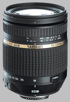 image of the Tamron 18-270mm f/3.5-6.3 Di II VC LD Aspherical IF Macro AF lens