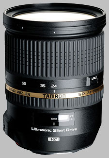 image of the Tamron 24-70mm f/2.8 Di VC USD SP lens