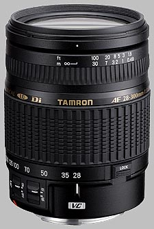image of the Tamron 28-300mm f/3.5-6.3 XR Di VC LD Aspherical IF Macro AF lens