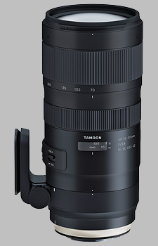 image of the Tamron 70-200mm f/2.8 Di VC USD G2 SP lens