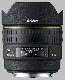image of the Sigma 14mm f/2.8 EX Aspherical HSM lens
