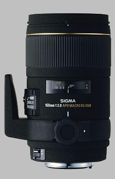 image of the Sigma 150mm f/2.8 EX DG HSM APO Macro lens