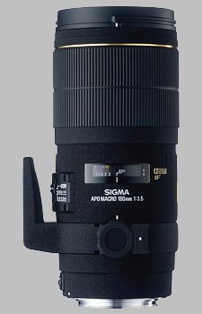 image of the Sigma 180mm f/3.5 EX DG IF HSM APO Macro lens