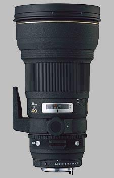 image of the Sigma 300mm f/2.8 EX DG HSM APO lens