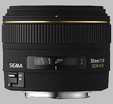 image of Sigma 30mm f/1.4 EX DC HSM