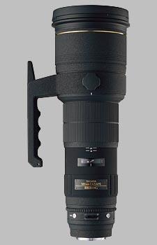 image of the Sigma 500mm f/4.5 EX DG HSM APO lens