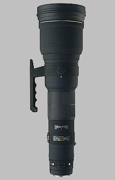 image of the Sigma 800mm f/5.6 EX DG HSM APO lens