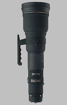 image of the Sigma 800mm f/5.6 EX DG HSM APO lens