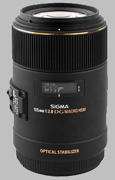 image of the Sigma 105mm f/2.8 EX DG OS HSM Macro lens