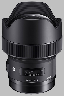 image of the Sigma 14mm f/1.8 DG HSM Art lens