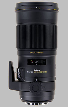 image of the Sigma 180mm f/2.8 EX DG OS HSM APO Macro lens