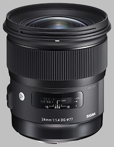 image of the Sigma 24mm f/1.4 DG HSM Art lens
