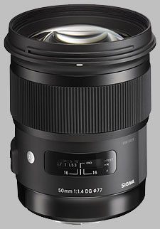 image of the Sigma 50mm f/1.4 DG HSM Art lens