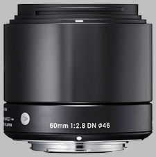 image of the Sigma 60mm f/2.8 DN Art lens