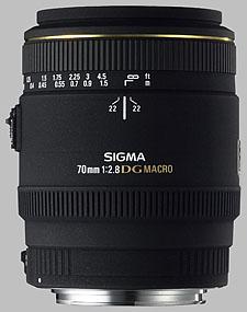 image of the Sigma 70mm f/2.8 EX DG Macro lens