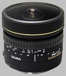 image of Sigma 8mm f/3.5 EX DG Circular Fisheye