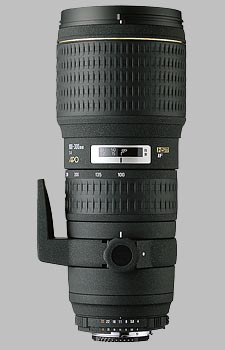 image of the Sigma 100-300mm f/4 EX IF HSM APO lens