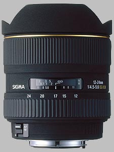 image of the Sigma 12-24mm f/4.5-5.6 EX DG Aspherical HSM lens