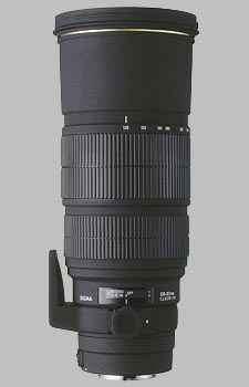 image of the Sigma 120-300mm f/2.8 EX IF HSM APO lens