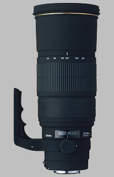 image of the Sigma 120-300mm f/2.8 EX DG HSM APO lens