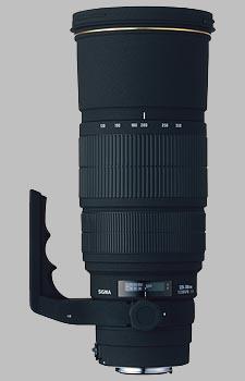 image of the Sigma 120-300mm f/2.8 EX DG HSM APO lens