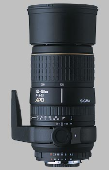 image of the Sigma 135-400mm f/4.5-5.6 Aspherical APO lens