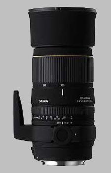 image of the Sigma 135-400mm f/4.5-5.6 DG APO lens