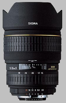 image of the Sigma 15-30mm f/3.5-4.5 EX DG Aspherical lens