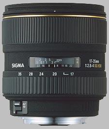 image of the Sigma 17-35mm f/2.8-4 EX DG Aspherical HSM lens